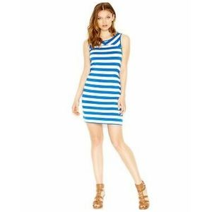 Kensie blue and white striped dress. Size M.